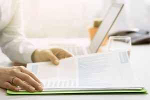 Monthly and annual tax statements